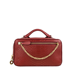 Sb Veronika W1 Women's Wallet, Snake Melbourne Ranch,  red