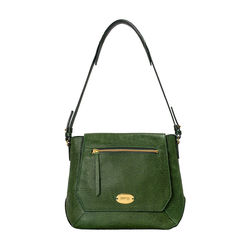 Taurus 02 Women's Handbag, Lizard Melbourne Ranch,  green