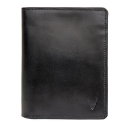 L108 Men's wallet, ranch,  black