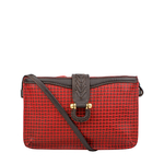SB FRIEDA W3 WOMENS WALLET MARRAKECH,  red