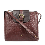 Sb Lyra Women s Handbag Ostrich,  brown