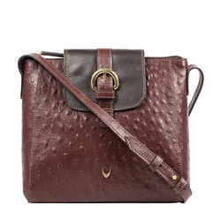 Sb Lyra Women's Handbag Ostrich,  brown