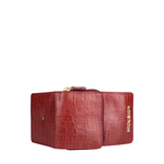 Carly W4(Rfid) Women s Wallet, Croco Melbourne Ranch,  red