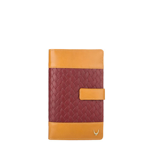Marty W3 (Rfid) Women s Wallet, Hdn Woven Melbourne,  red