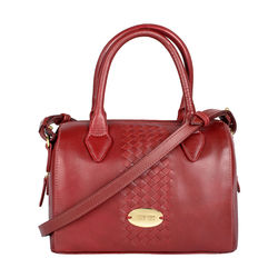 Treccia 03 Satchel,  red