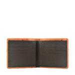 Baku Men s wallet,  tan, ostrich