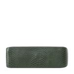 Delilah 03 Women s Handbag Snake,  emerald green