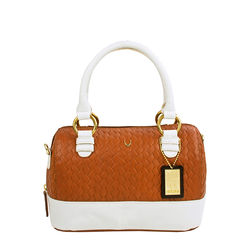 Marty 02 Handbag, woven,  tan