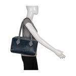 Kasai 03 Sb Women s Handbag, Croco,  midnight blue
