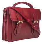 Chione 02 Handbag,  dark red
