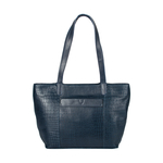 Ee Misha 02 Women s Handbag Lizard,  midnight blue