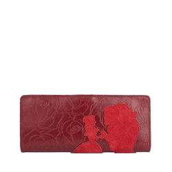 Rose W1 Women's Wallet,  red