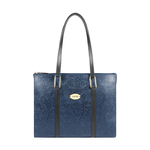 FUSCHIA 02 SB WOMENS HANDBAG FLOWER EMBOSSED,  midnight blue