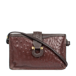 SB FRIEDA W3 WOMEN'S WALLET OSTRICH,  brown