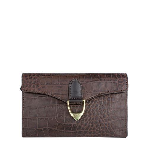 Ee Elsa W1 Women s Wallet Croco,  brown