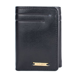 284-Tf (Rf) Men's wallet,  black