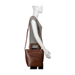 HIDESIGN X KALKI Evolve 01 Women s Handbag, Dakota Mel Ranch,  tan