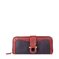 Ee Frieda W2 Women's wallet, Snake,  aubergine