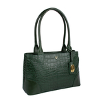 BERLIN 02 SB WOMEN S HANDBAG CROCO,  emerald green