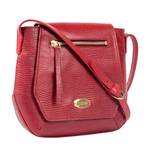 Taurus 01 Women s Handbag, Lizard,  red