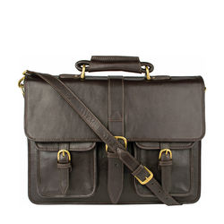 Castello Briefcase,  brown