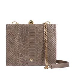 Hidesign X Kalki 3 A. M 01 Women's Handbag, Snake Ranch,  metallic