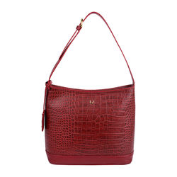 Berlin 03 Sb Women's Handbag, Croco Melbourne Ranch,  red