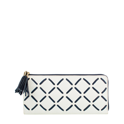 Kochab W2 Women's Wallet, Cow Deer Melbourne Ranch,  white, cow deer