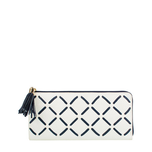 Kochab W2(Rfid) Women s Wallet, Cow Deer Melbourne Ranch,  white
