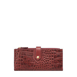 Hongkong W1 Sb (Rfid) Women's Wallet Croco,  red