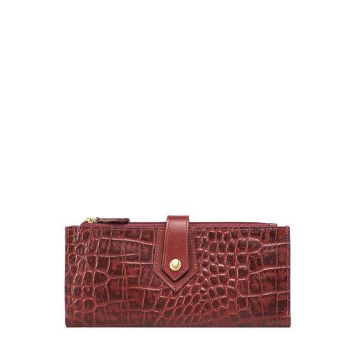 Hongkong W1 Sb (Rfid) Women s Wallet Croco,  red