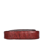 Croco W3 Women s Wallet, Croco Melbourne Ranch,  red