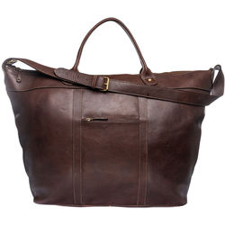 Roberto Men's Duffle Bag, Soweto,  brown
