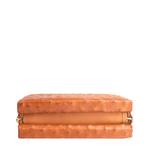 Aube Handbag,  tan, ostrich