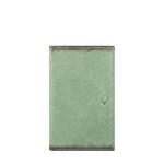 296 - 031F (RFID) WALLET CAMEL,  emerald green