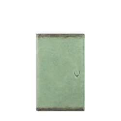 296 - 031F (RFID) WALLET CAMEL,  emerald green