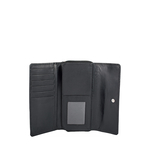 526 (Rfid) Women s Wallet, Croco,  black
