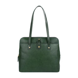 Hong Kong 02 Sb Women's Handbag, Lizard Melbourne Ranch,  emerald green