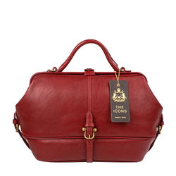 Julie Satchel, ranchero,  red