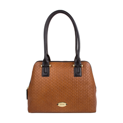 Frankfurt 01 Sb Women's Handbag, Hdn Woven Melbourne Ranch,  tan