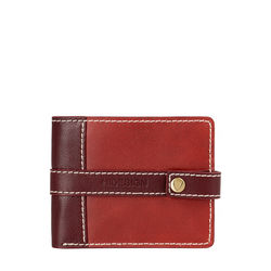 308 017[ Rfid] Sb Men's Wallet, Waxed Split,  marsala