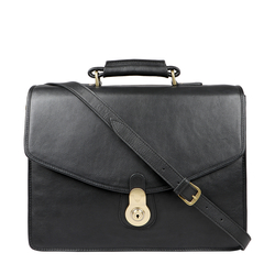 GI FIRST BRIEFCASE REGULAR,  black