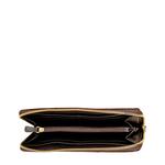 Atlanta Women s Wallet, Flower Embossed,  brown