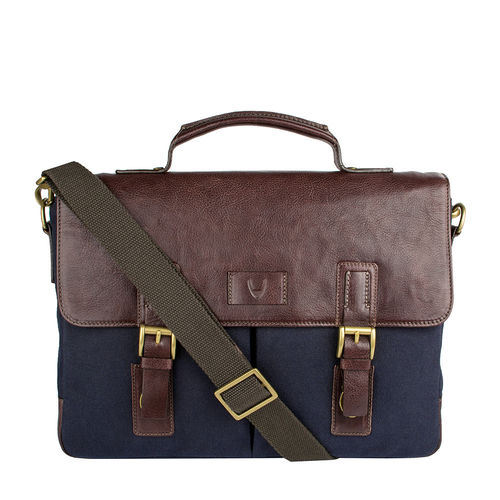 Bedouin 01 Briefcase,  navy blue