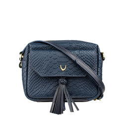Mb Ellie Sling bag, snake,  midnight blue
