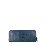 Angara W2 (Rfid) Sb Women s Wallet, Snake,  midnight blue