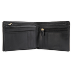 L107 N (Rfid) Men s Wallet Ranch,  black