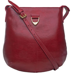 Blanche 01 Crossbody, ranchero,  dark red