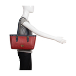 Dubai 01 Sb Women s Handbag Snake,  red