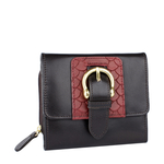 Shanghai W3 Sb (Rfid) Women s Wallet, Melbourne Ranch Snake,  brown